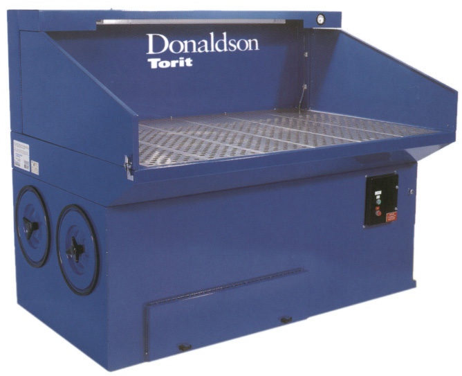 Donaldson Torit Downdraft Bench  Dust Collector