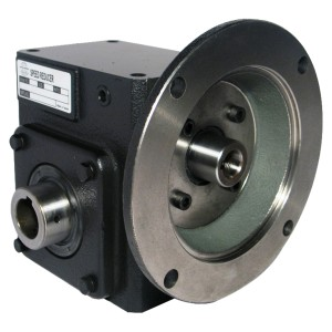 Worm Gear Reducer - Flange Input - Hollow Bore Output