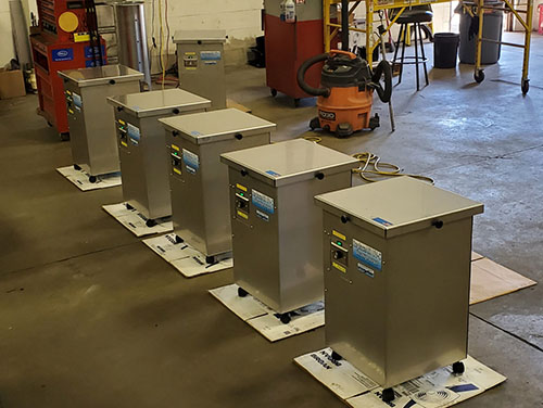 Testing Underway for Five UV-C Air Cleaners